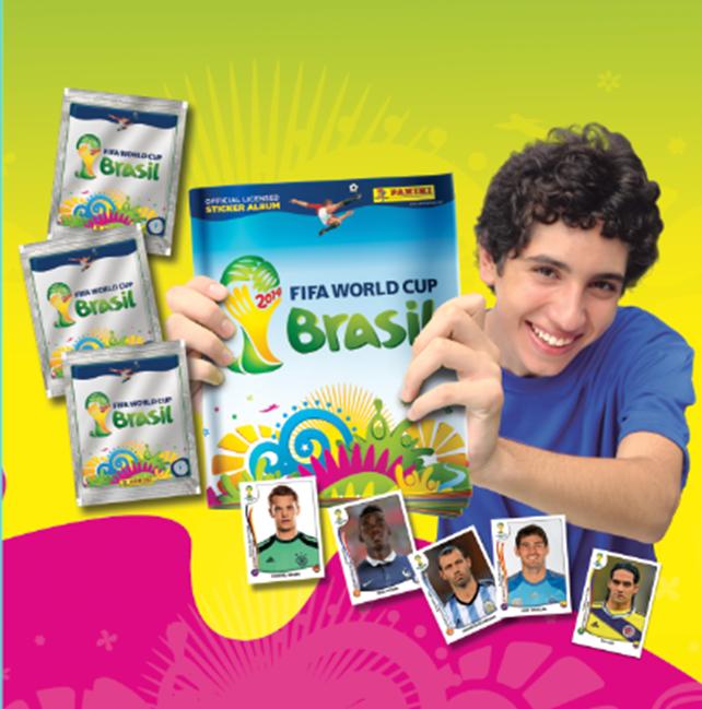 Álbum Panini del Mundial de Brasil
