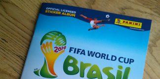 Álbum Panini del Mundial Barasil