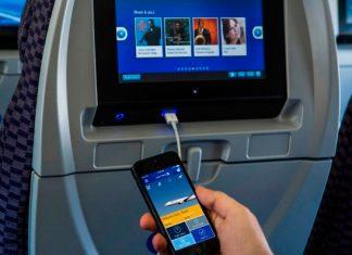 Uso de gadgets en los aviones
