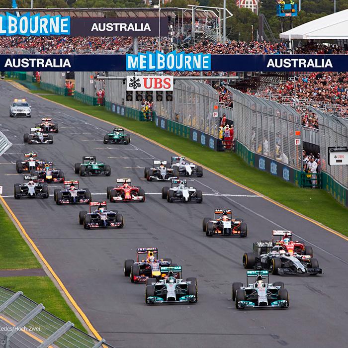 Fórmula 1 Melbourne 2014