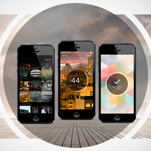 Wetransfer llega a iOS
