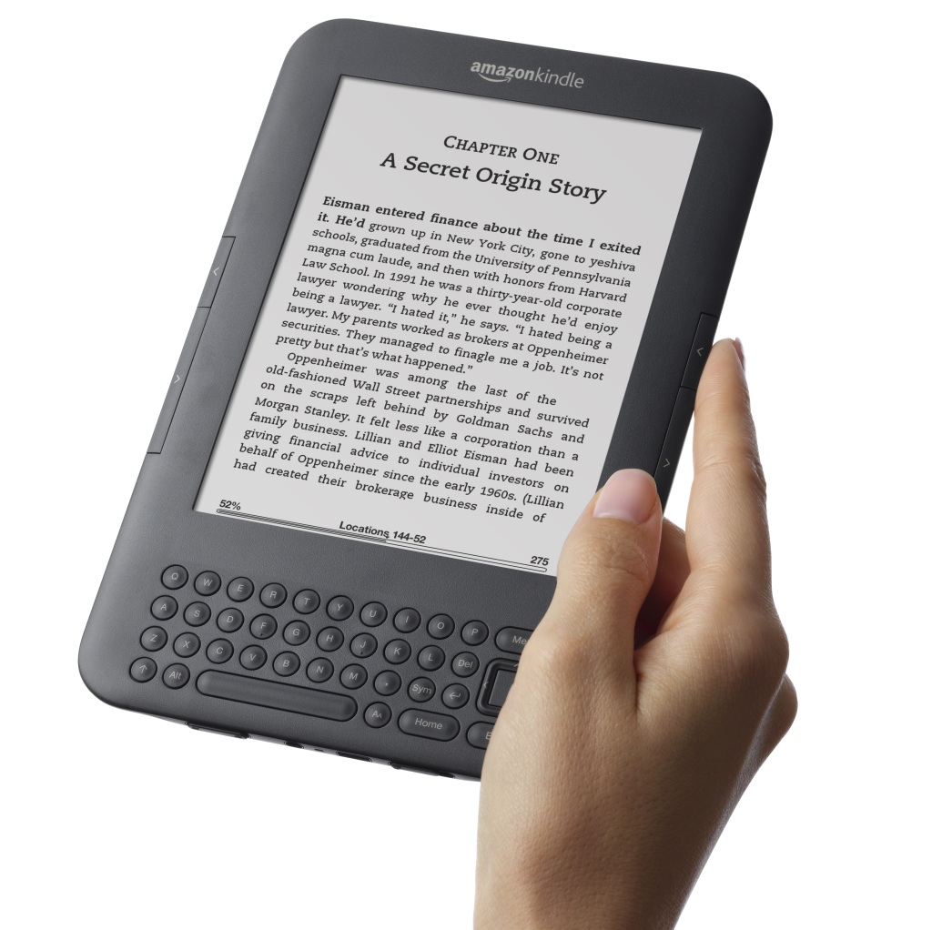 E-book reader Amazon Kindle