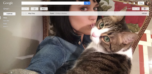 Herramienta en Gmail para compartir selfies