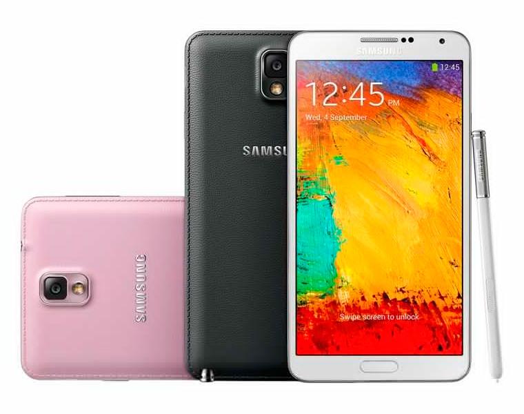 Phablets que puedes comprar en México - Samsung Galaxy Note 3