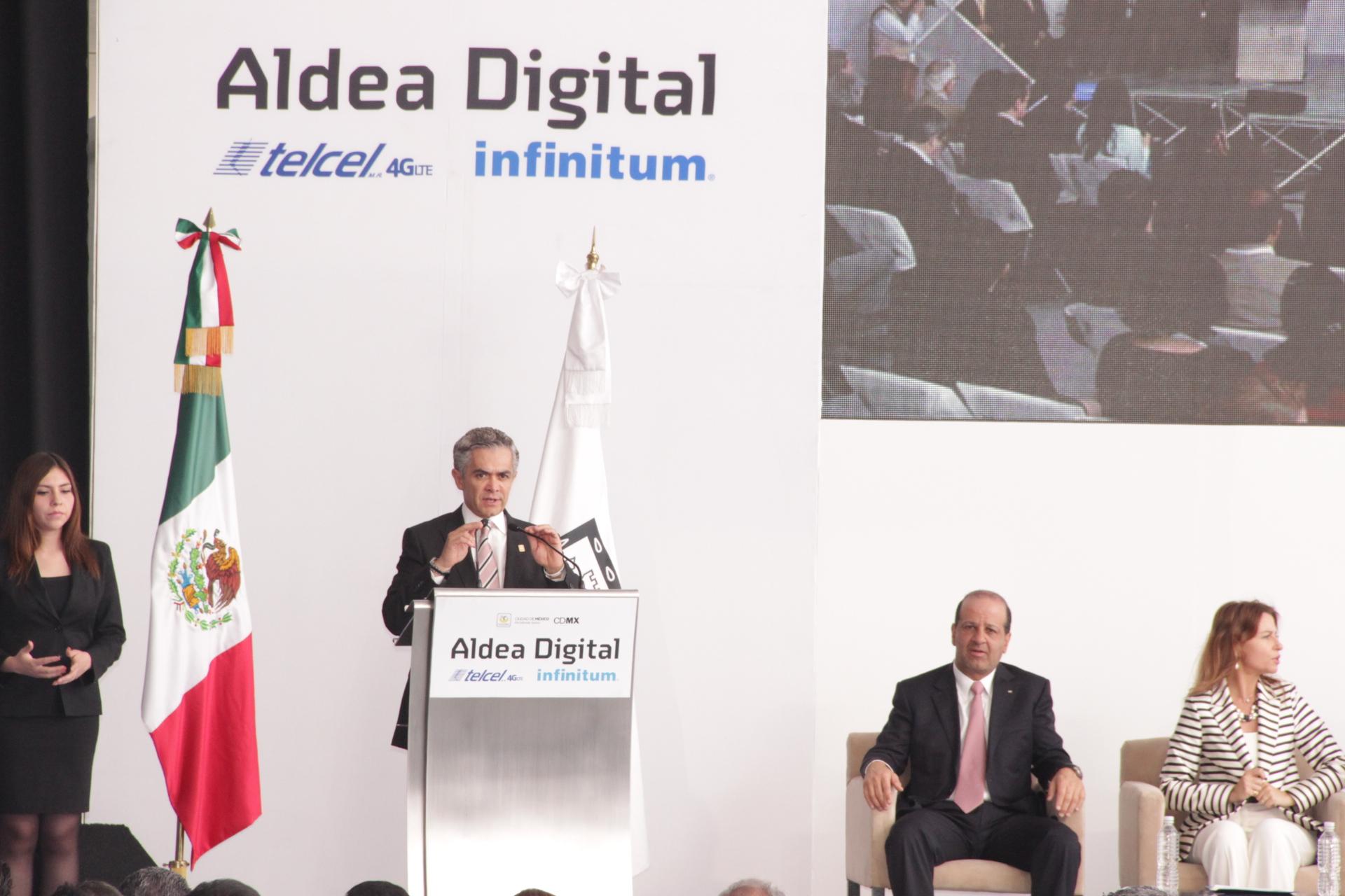Inauguración Aldea Digital 2014