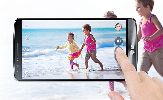 LG G3 cámara