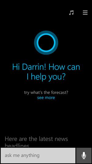 Cortana ya es una realidad en Windows Phone 8.1