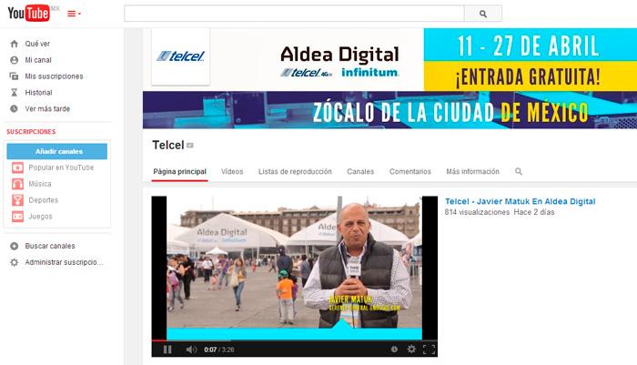Aldea Digital en YouTube