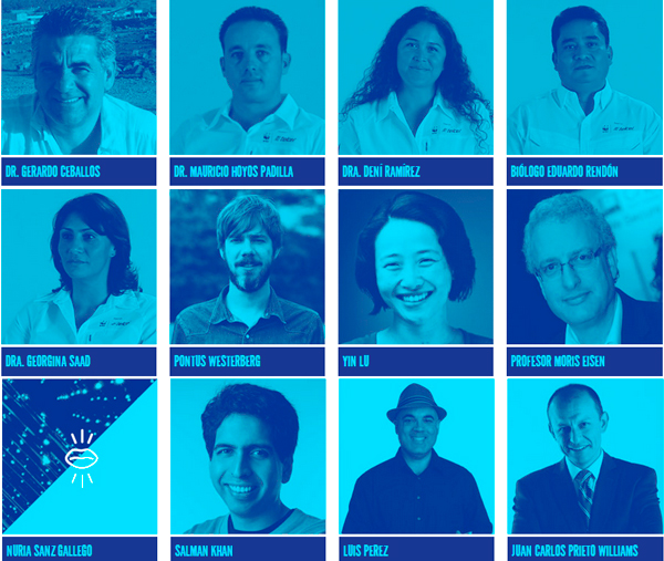 Conferencistas en Aldea Digital