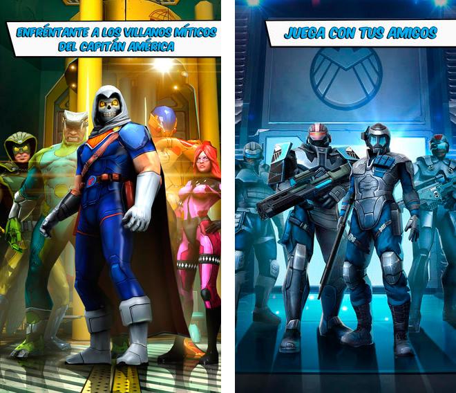 Juego Capitán América: El Soldado de Invierno
