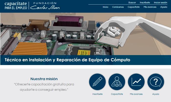 Capacítate para el Empleo con Fundación Carlos Slim