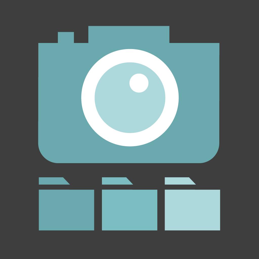 Impala organizador de fotos en el smartphone