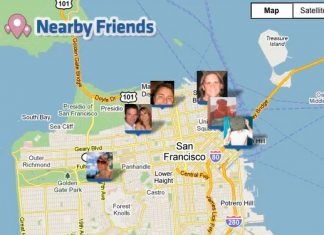 Facebook Nearby Friends