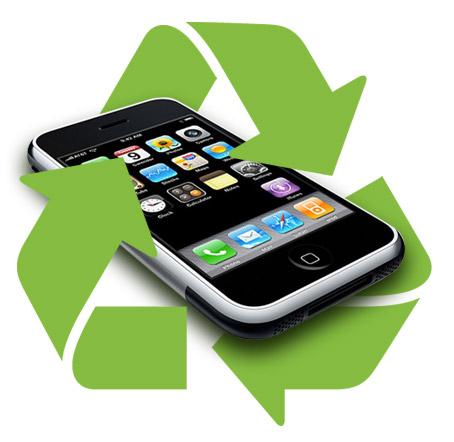 Reciclaje de celulares