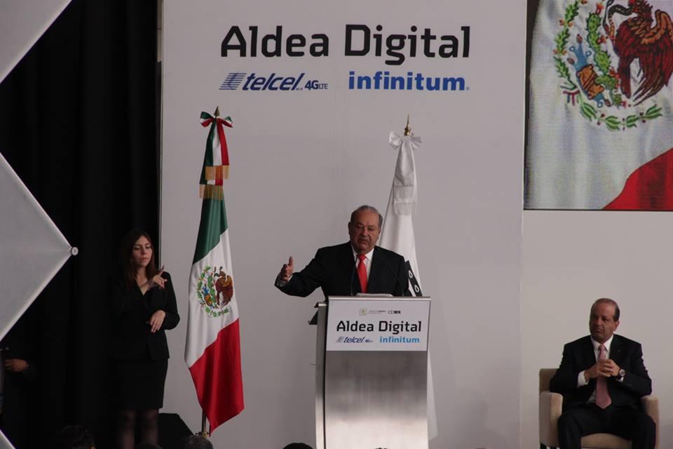 Inauguración de Aldea Digital 2014
