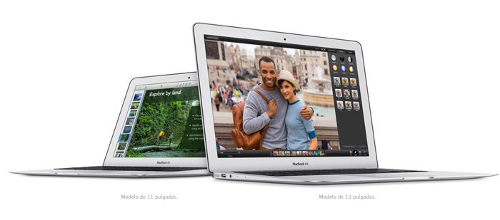 Nueva generación de MacBook Air