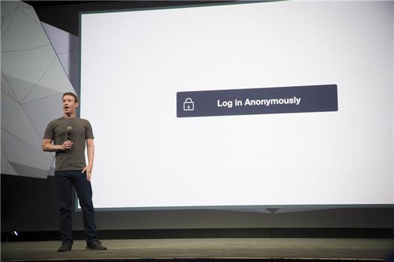 Acceso Anónimo en Facebook