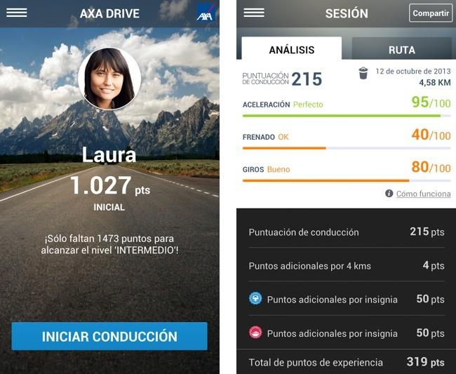 App Axa Drive
