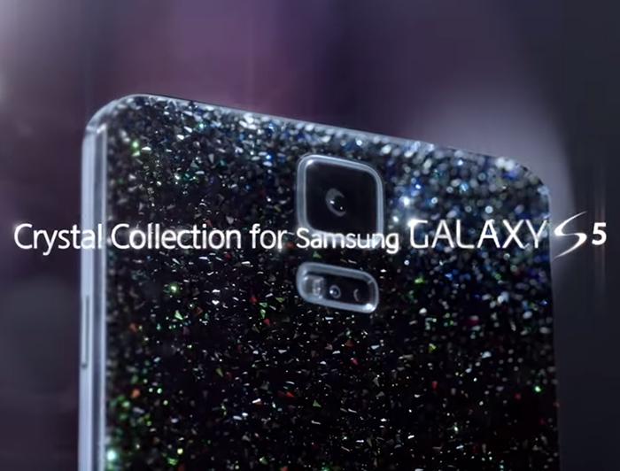 Colaboración entre Samsung y Swarovski