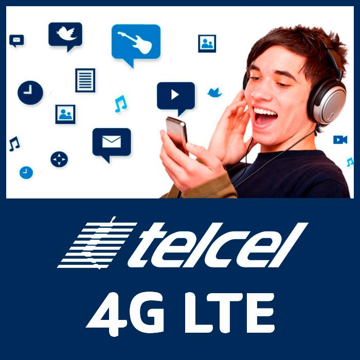 4G LTE de Telcel