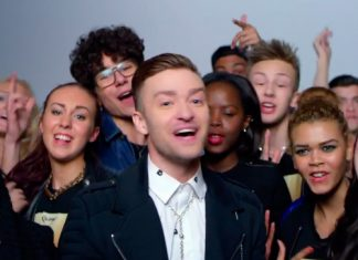 Justin Timberlake en el video Love never felt so good de Michael Jackson