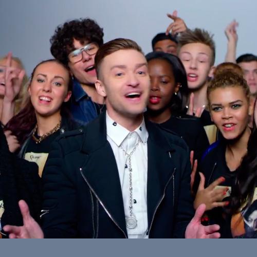 Justin Timberlake en el video Love never felt so good de Michael Jackson