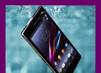 Sony Xperia Z2 - resistente al agua y el polvo