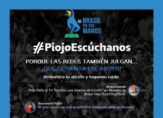 Piojo Escúchanos - Mundial Brasil
