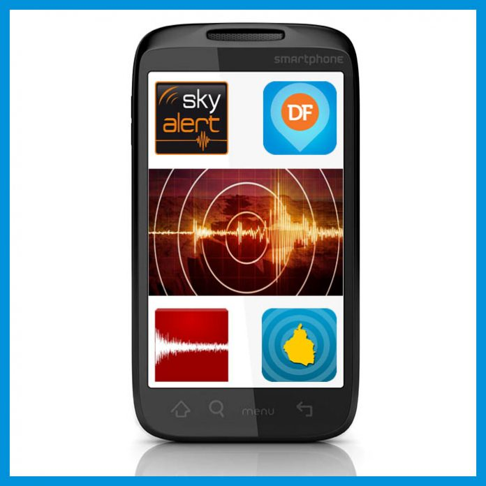 Apps de alerta sísmica