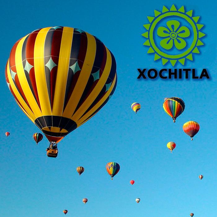 Festival de Globos Aerostáticos Xochitla 2014
