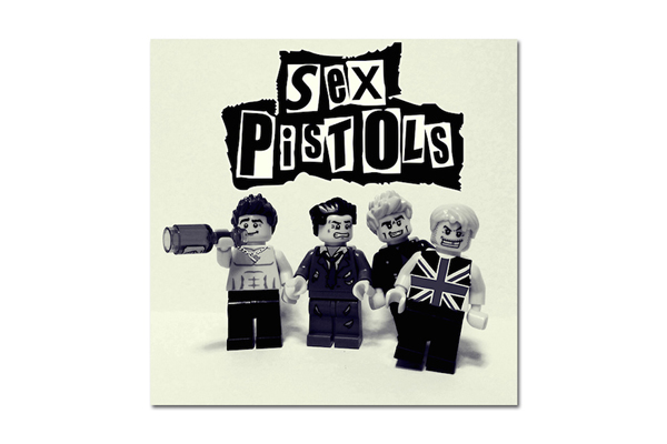 Conoce las versiones LEGO de tus bandas favoritas