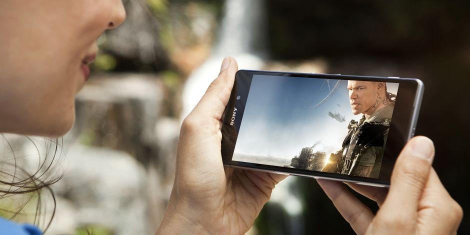 Pantalla del Sony Xperia Z2