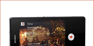 Live on YouTube para el Xperia Z2
