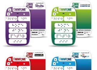 OwnFone teléfono Braille