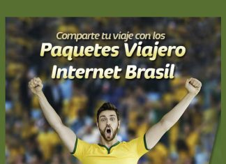 paquetes Viajero Internet Brasil de Telcel