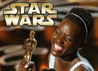 Lupita Nyong'o en Star Wars