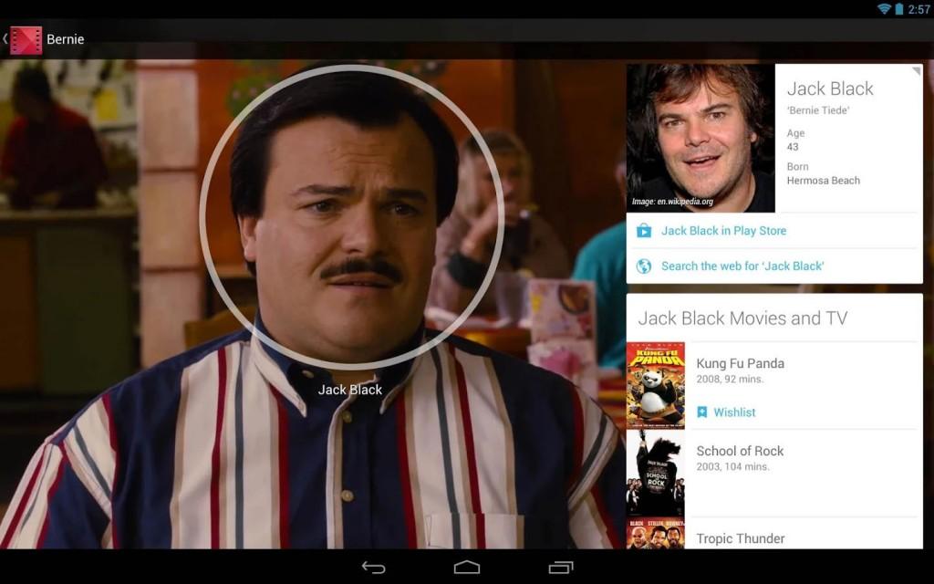 Google lanza función para reconocer a los actores