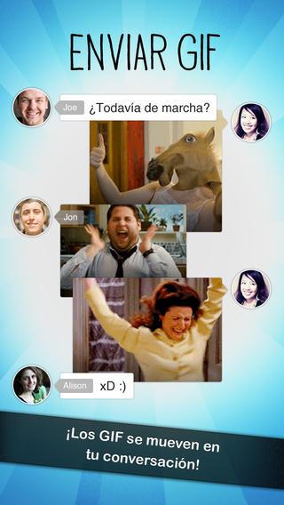Relay GIF Messenger