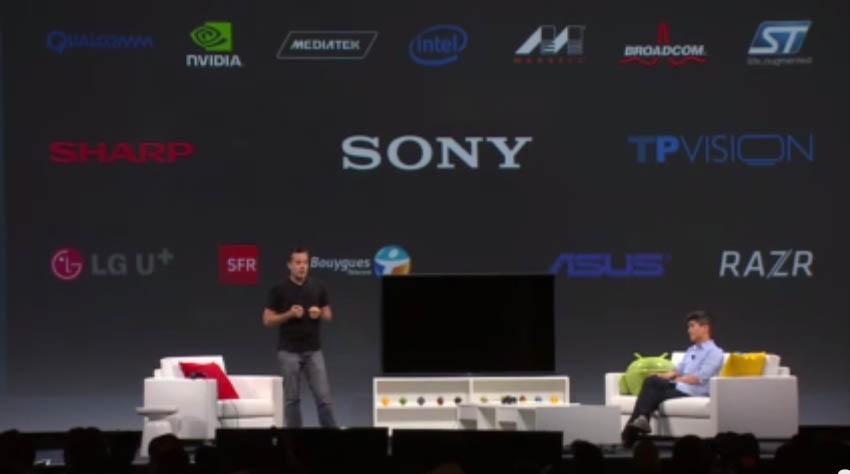 Google I/O 2014 Android TV