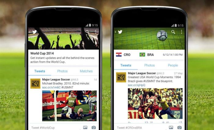 El Mundial en las redes sociales