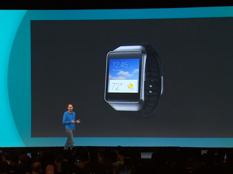 Google I/O 2014 Android Wear