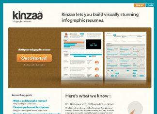 Kinzaa tu CV en infografía