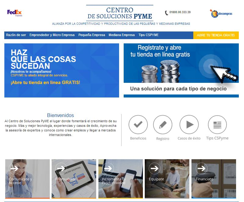 Centro de SolucionesPyME