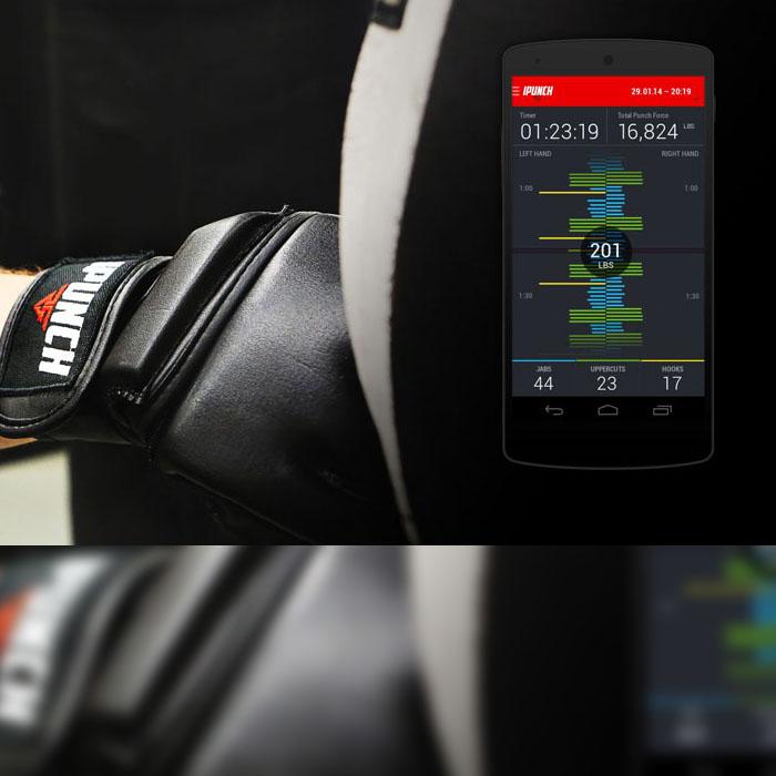 iPunch guantes inteligentes de box
