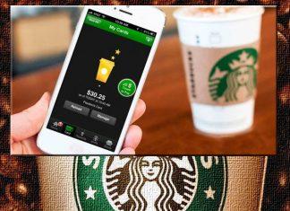 Pago móvil en Starbucks