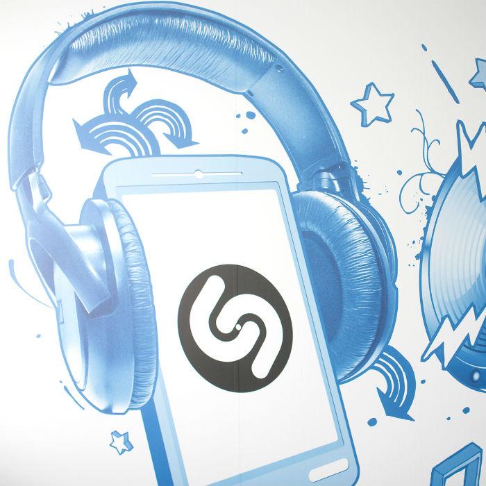 Listas de éxitos Shazam