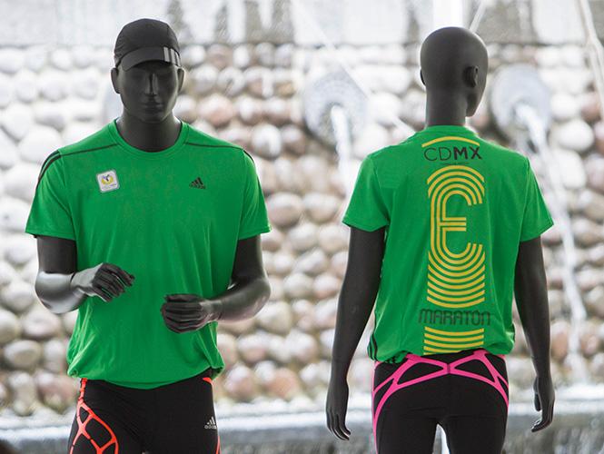 Playera del Maratón de la Ciudad de México 2014
