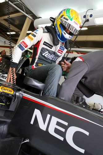 Esteban Gutiérrez, piloto de F1
