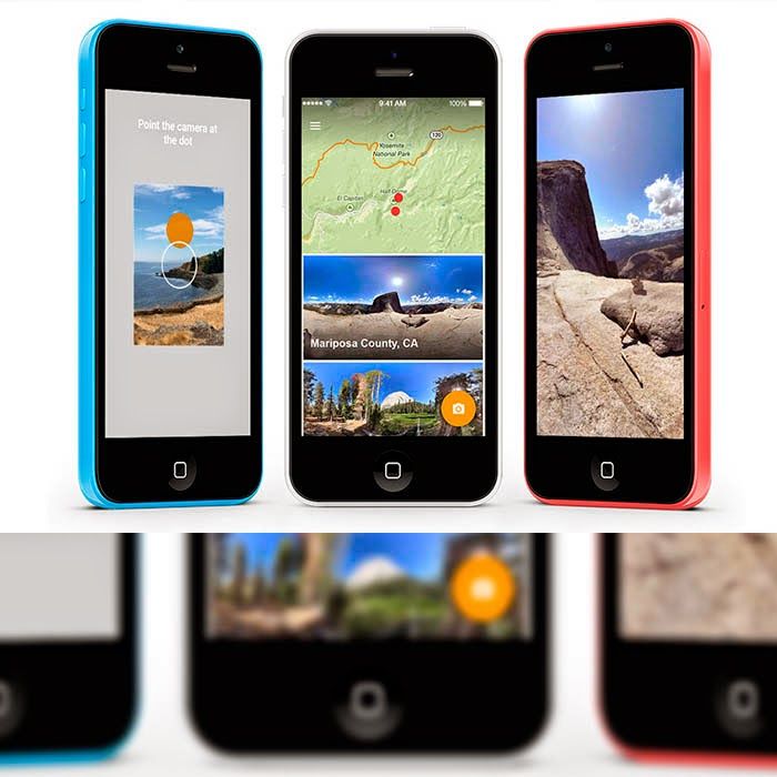 Photo Sphere en iOS