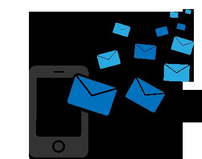 SMS por cobrar con Telcel